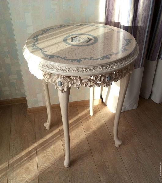 Мебель ручной работы. Ярмарка Мастеров - ручная работа. Купить Столик кофейный из камня с агатом. Handmade. Комбинированный, кофейный, смола