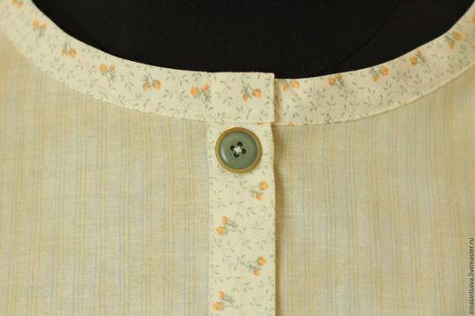 """Блузки ручной работы. Ярмарка Мастеров - ручная работа. Купить Рубашка """"для Светланы"""" :-). Handmade. Рубашка"""