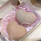 """Бомбочки для ванны ручной работы. Ярмарка Мастеров - ручная работа Бомбочки """"Сердечки"""". Handmade."""