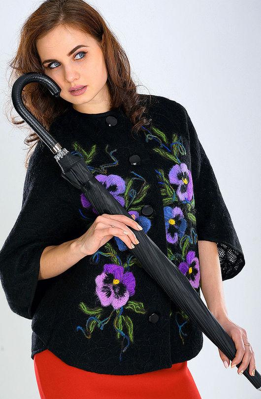 Верхняя одежда ручной работы. Ярмарка Мастеров - ручная работа. Купить ПЧ (М) 05. Handmade. Цветочный, ручная работа