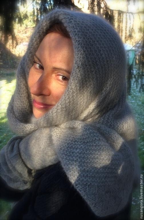 Стало холодно. Самое время закутаться в теплый, мягкий платок - традиционную одежду наших женщин. `Серый зайчик` - все только настоящее!