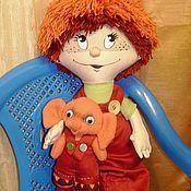 Куклы и игрушки ручной работы. Ярмарка Мастеров - ручная работа Петя Пяточкин, авторская текстильная кукла. Handmade.