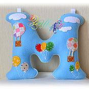 Подарки к праздникам ручной работы. Ярмарка Мастеров - ручная работа Мягкая буква, инициалы из фетра. Handmade.