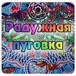 Радужная пуговка (rainbow-button) - Ярмарка Мастеров - ручная работа, handmade