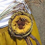 """Одежда ручной работы. Ярмарка Мастеров - ручная работа Юбка в пол """"Три орешка..."""". Handmade."""