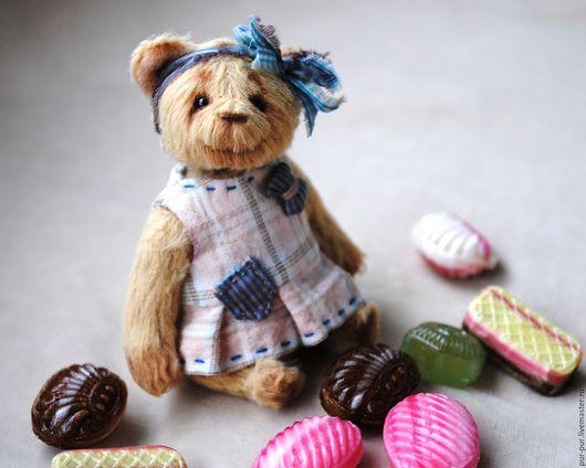 Мишки Тедди ручной работы. Ярмарка Мастеров - ручная работа. Купить Ми-Ю-Ки. Handmade. Желтый, тедди мишка