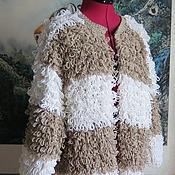 Одежда handmade. Livemaster - original item Gorgeous knitted cardigan