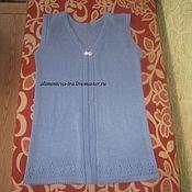 Одежда ручной работы. Ярмарка Мастеров - ручная работа Жилет из ангоры. Handmade.