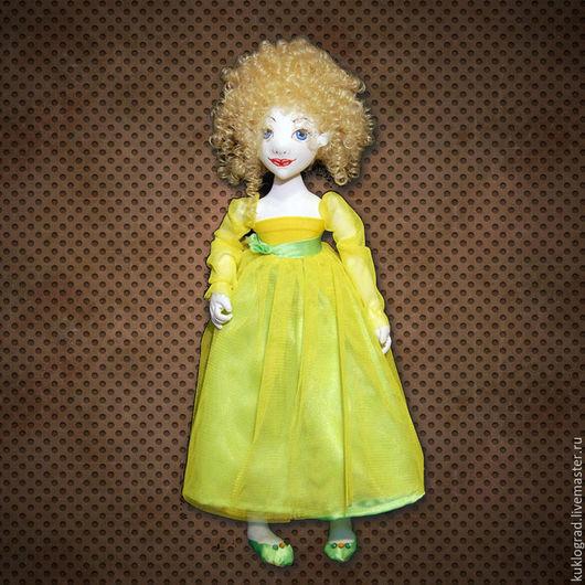 Коллекционные куклы ручной работы. Ярмарка Мастеров - ручная работа. Купить Эльфочка Куэ. Авторская шарнирная кукла, грунтованный текстиль.. Handmade.