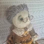 """Куклы и игрушки ручной работы. Ярмарка Мастеров - ручная работа Вязаная кукла"""" Фрекен Бок"""". Handmade."""