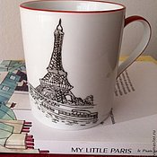 """Посуда ручной работы. Ярмарка Мастеров - ручная работа Кружка """" Paris, Paris"""". Handmade."""