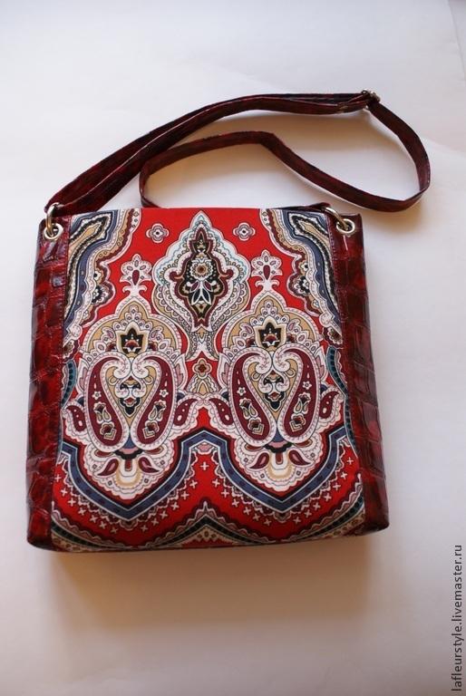 La Fleur style Сумка через плечо из платка Екатерины Потаповой