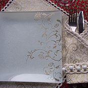 Для дома и интерьера ручной работы. Ярмарка Мастеров - ручная работа Сервировочные салфетки. Handmade.
