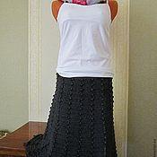 Одежда ручной работы. Ярмарка Мастеров - ручная работа Юбка вязаная (Модель из журнала мод). Handmade.