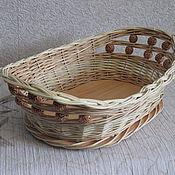 Для дома и интерьера handmade. Livemaster - original item Basket for bread, cookies, candy - 1. Handmade.