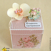 """Подарки к праздникам ручной работы. Ярмарка Мастеров - ручная работа Magic Box """"Секреты Орхидеи"""". Handmade."""