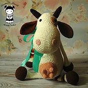Куклы и игрушки handmade. Livemaster - original item Toy Cow large 37 cm. Handmade.