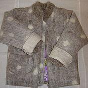 Одежда ручной работы. Ярмарка Мастеров - ручная работа Детская зимняя валяная куртка. Handmade.