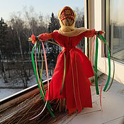 Куклы и игрушки ручной работы. Ярмарка Мастеров - ручная работа домашняя Масленица. Handmade.