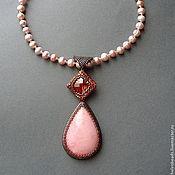 Украшения handmade. Livemaster - original item Magnolia. Handmade.