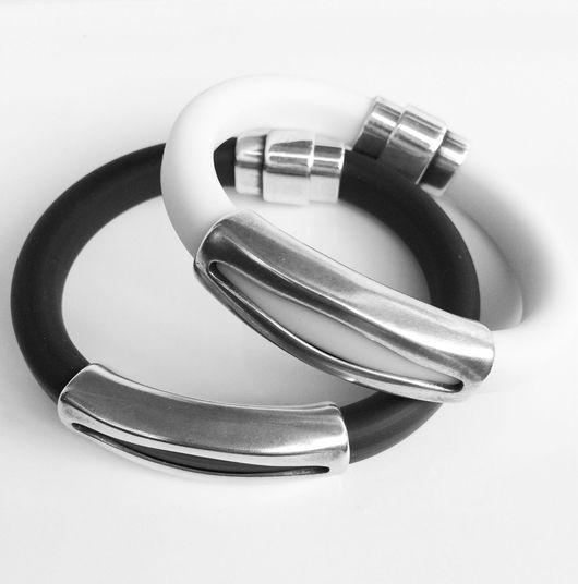 """Браслеты ручной работы. Ярмарка Мастеров - ручная работа. Купить Комплект браслетов в стиле Регализ """"Для него и для нее"""". Handmade."""