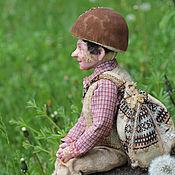 Куклы и игрушки ручной работы. Ярмарка Мастеров - ручная работа Боря, леший Боровичок. Handmade.