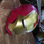 Костюмы ручной работы. Ярмарка Мастеров - ручная работа Шлем железного человека. Handmade.
