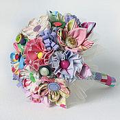 Свадебный салон ручной работы. Ярмарка Мастеров - ручная работа Букет из ткани Ситцевый букет. Handmade.