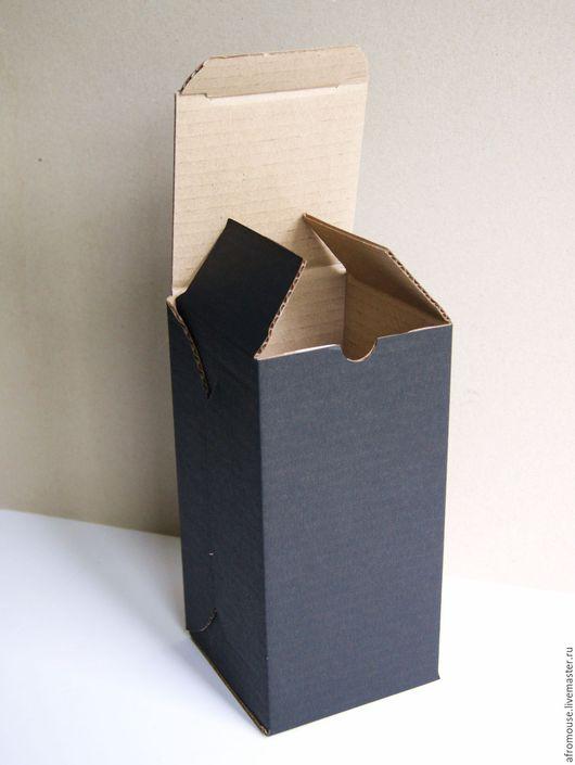 высокий короб, коробка для бокалов и вазочек