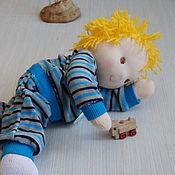 Вальдорфские куклы и звери ручной работы. Ярмарка Мастеров - ручная работа Вальдорфская кукла Егорка, игровая кукла. Handmade.