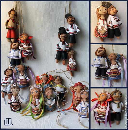 Колокольчики ручной работы. Ярмарка Мастеров - ручная работа. Купить колокольчики. Handmade. Разноцветный, кукла, украинский костюм