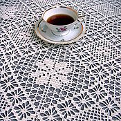 Для дома и интерьера handmade. Livemaster - original item Tablecloth knitted Vera. Handmade.