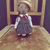 Мишки Тедди ручной работы. Ярмарка Мастеров - ручная работа Мишки Тедди: винтажный Тедди. Ретро мишка.. Handmade.