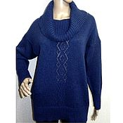 Одежда handmade. Livemaster - original item Sweater knitted oversize Gentle. Handmade.