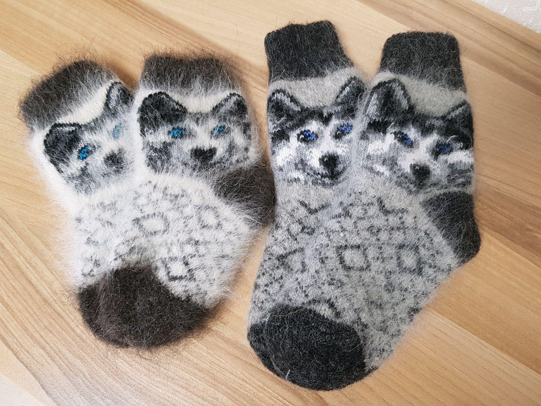 Детские пуховые носки ХАСКИ Размер 12- 18 см, Носки, Волгоград,  Фото №1