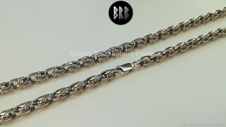 """Цепь """"Эльфийский перезвон"""" серебро 925 пр, Chain, Penza,  Фото №1"""