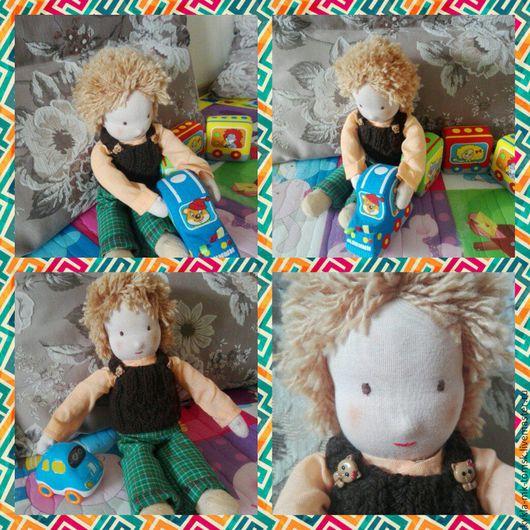 Вальдорфская игрушка ручной работы. Ярмарка Мастеров - ручная работа. Купить Вальдорфская кукла. Handmade. Кукла ручной работы, детям