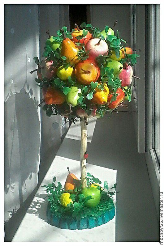 Интерьерные слова ручной работы. Ярмарка Мастеров - ручная работа. Купить Витаминка. Handmade. Рыжий, фрукты, интерьерная композиция