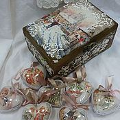 """Подарки к праздникам ручной работы. Ярмарка Мастеров - ручная работа Набор :""""Новогодняя сказка"""". Handmade."""