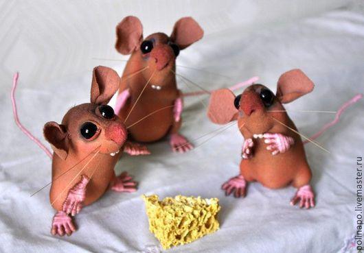 Игрушки животные, ручной работы. Ярмарка Мастеров - ручная работа. Купить Мышонок. Handmade. Мышка, мышонок, кукла ручной работы