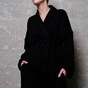 Одежда ручной работы. Ярмарка Мастеров - ручная работа Кардиган -кимоно женское Fiara. Handmade.