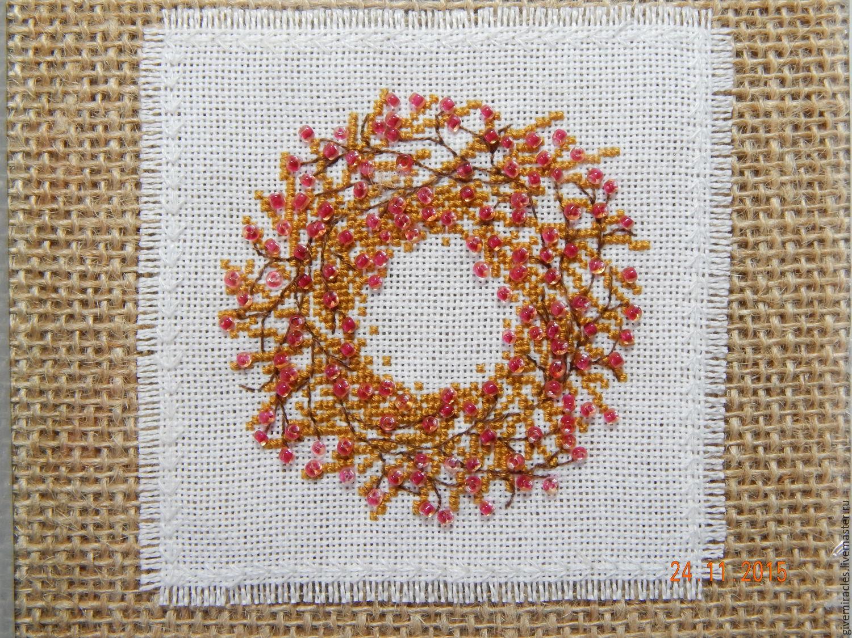 Схемы вышивки узелком 17
