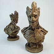 Сувениры и подарки handmade. Livemaster - original item Busts of Marvel superheroes. Handmade.