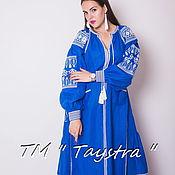 Одежда ручной работы. Ярмарка Мастеров - ручная работа Вышитое платье бохо, этно стиль, Bohemia,вышиванка. Handmade.