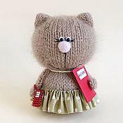 Куклы и игрушки handmade. Livemaster - original item Pussy-accountant.. Handmade.