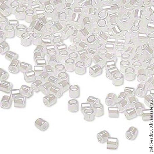 Для украшений ручной работы. Ярмарка Мастеров - ручная работа. Купить MIYUKI DELICA 8/0 DBL231  ceylon pearl white 10гp. Handmade.