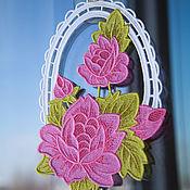 Suspension handmade. Livemaster - original item The decoration on the window may bouquet of peonies.. Handmade.