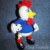 Куклы и игрушки handmade. Livemaster - original item Cock Ronald. Cock knitted. The Year Of The Rooster.. Handmade.
