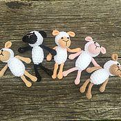 Куклы и игрушки ручной работы. Ярмарка Мастеров - ручная работа Вязаные игрушки- Амигуруми. Овечки.. Handmade.