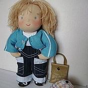 Куклы и игрушки ручной работы. Ярмарка Мастеров - ручная работа Матвей вальдорфская кукла 30 см. Handmade.